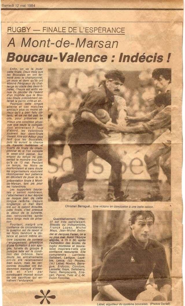 1984.... un 3ème Challenge de l'Espérance Finale10