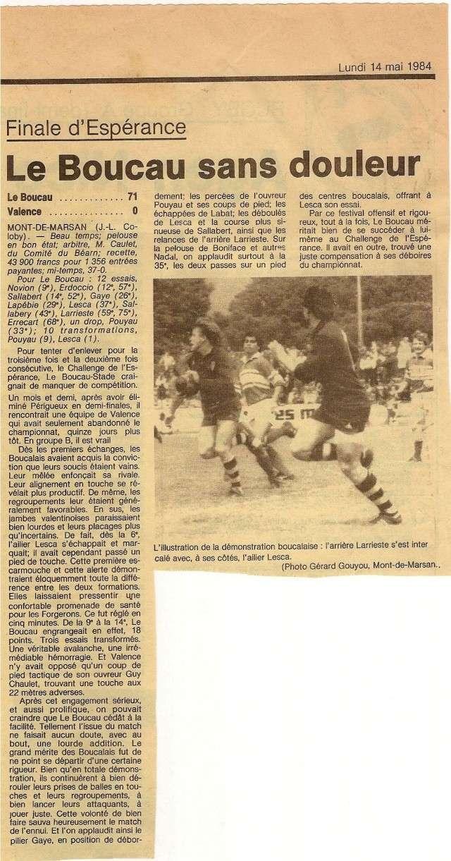 1984.... un 3ème Challenge de l'Espérance Finale11