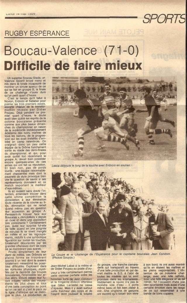 1984.... un 3ème Challenge de l'Espérance Finale12