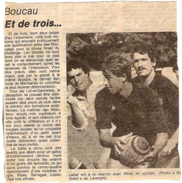 1984.... un 3ème Challenge de l'Espérance Marman10