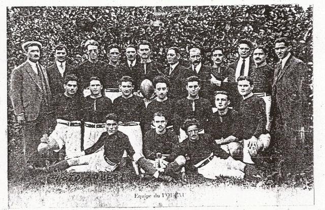 """1923.... le premier exploit devant la """"vierge Rouge"""" du Stade Toulousain. Saison12"""