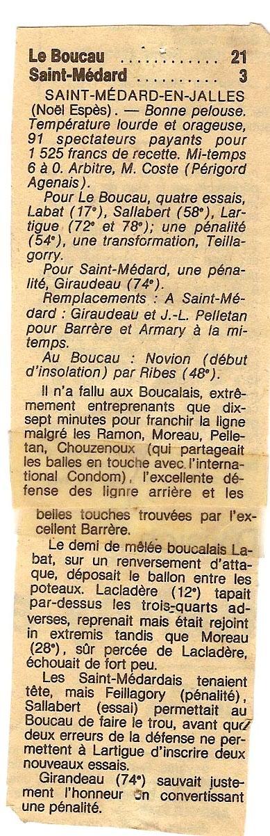 1984.... un 3ème Challenge de l'Espérance St_med10