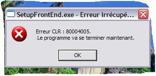 Probleme avec le logiciel paint.net Erreur13