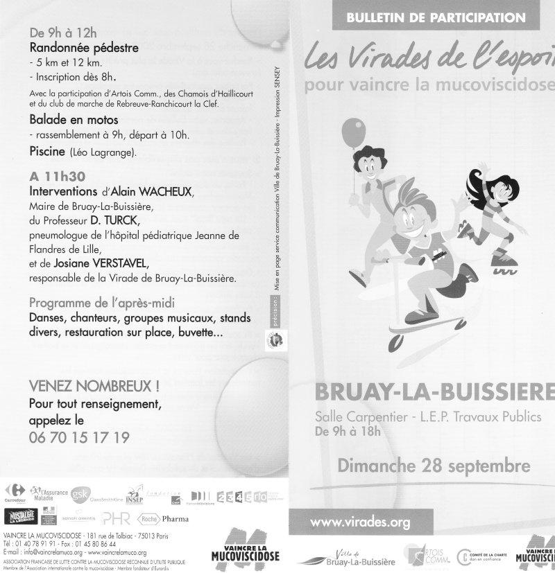 Le VMA se mobilise contre la mucoviscidose Virade13