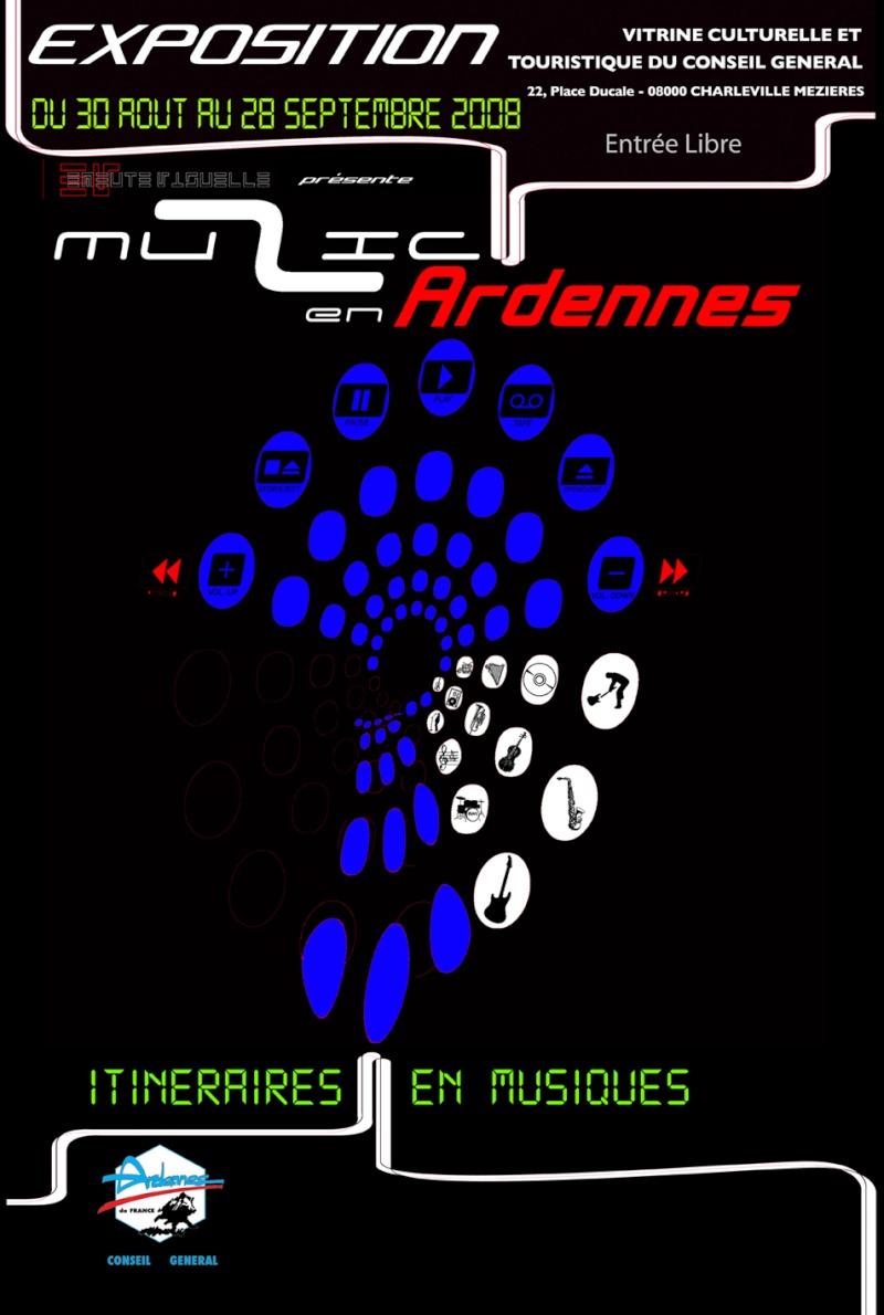 Expo itinéraires en musique. Afiche11