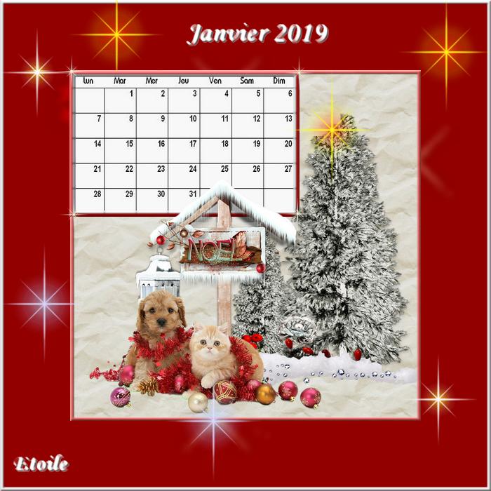 calendrier 1anvier 2019 Calend16