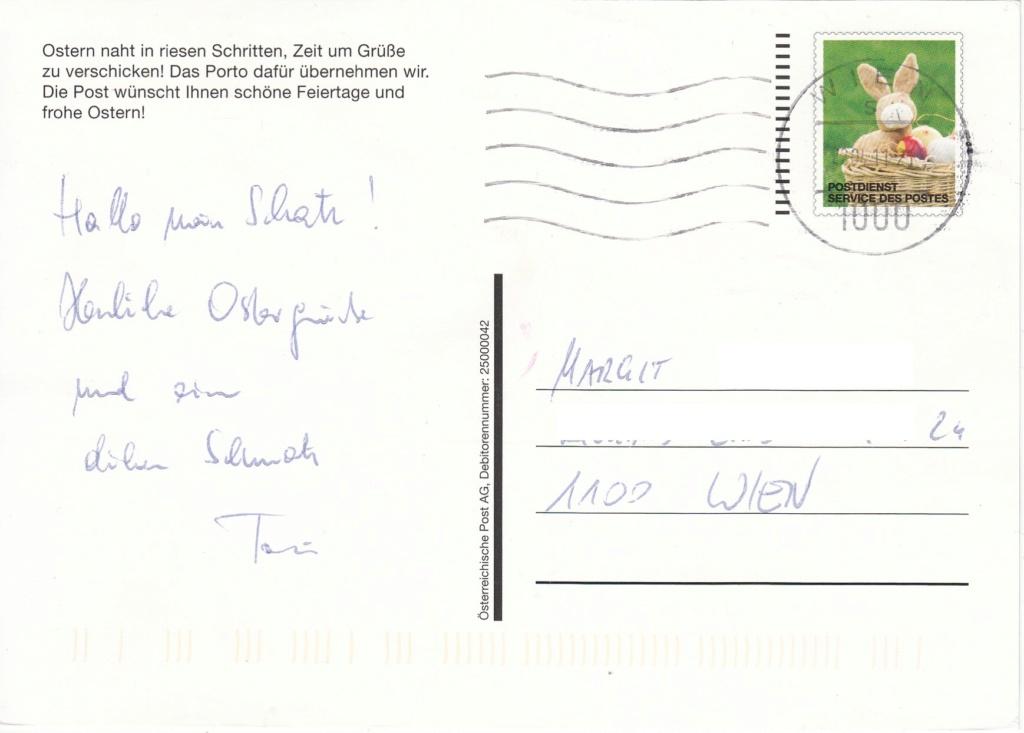Postdienst – Service des postes - Postdienstkarten - Österreich Img103