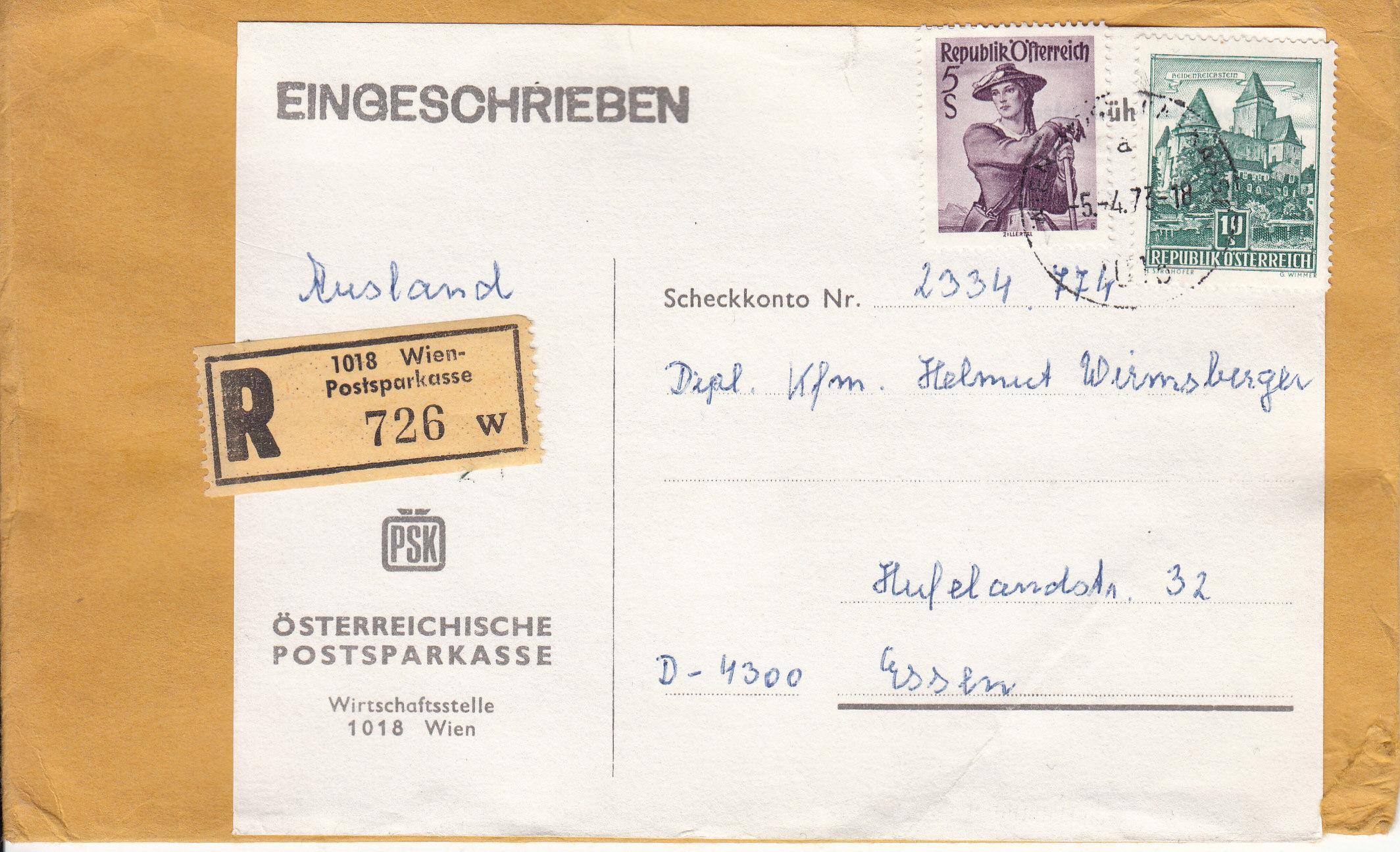 Briefe / Poststücke österreichischer Banken - Seite 4 Img128