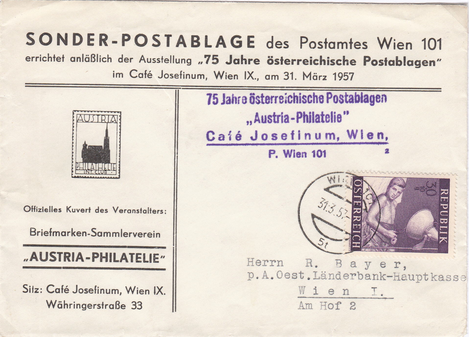 Sammlung Bedarfsbriefe Österreich ab 1945 - Seite 12 Img131