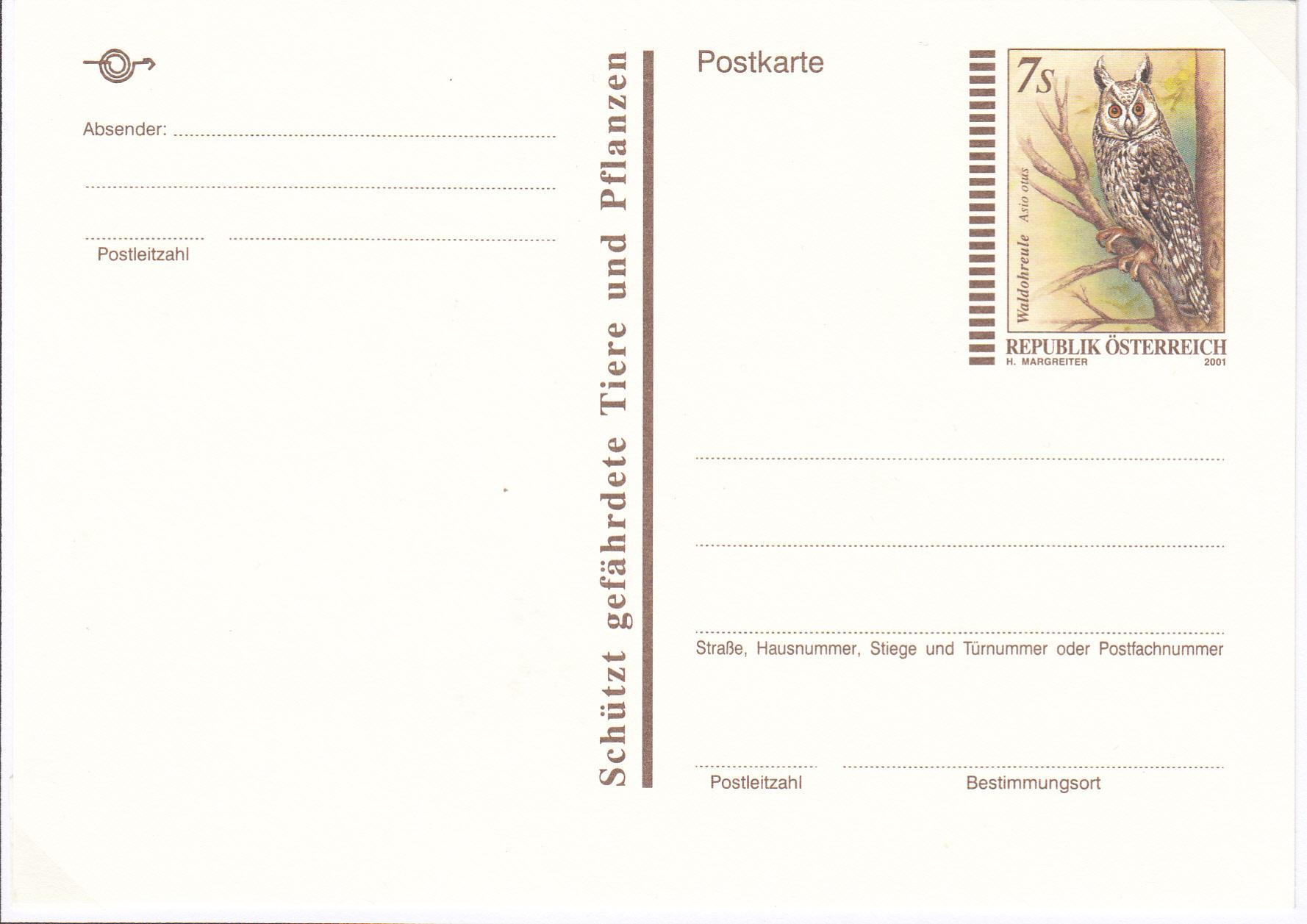 Letzte Postkarte in Schillingwährung Img138