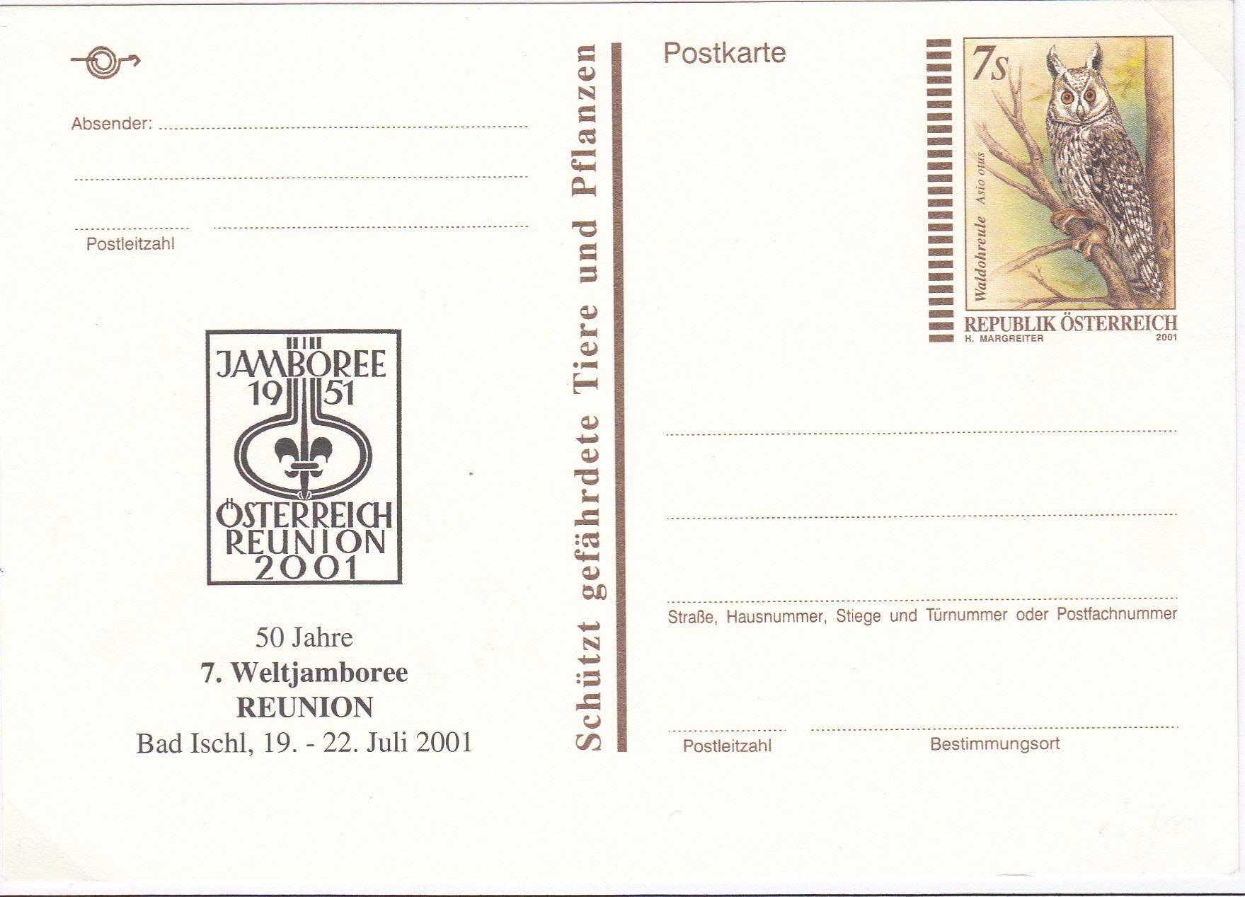 Letzte Postkarte in Schillingwährung Img139