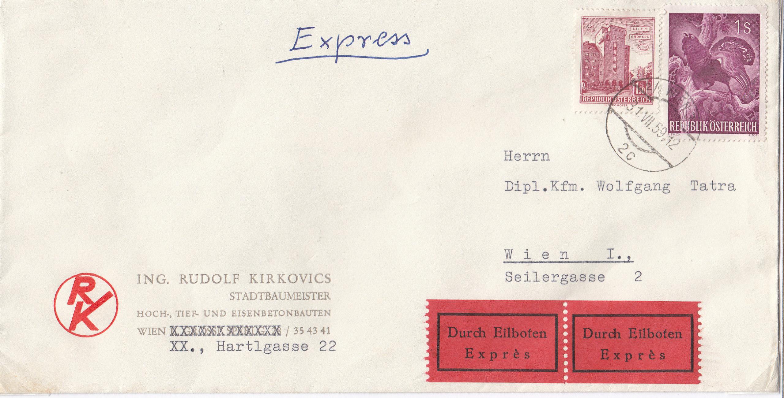 Sammlung Bedarfsbriefe Österreich ab 1945 - Seite 13 Img154