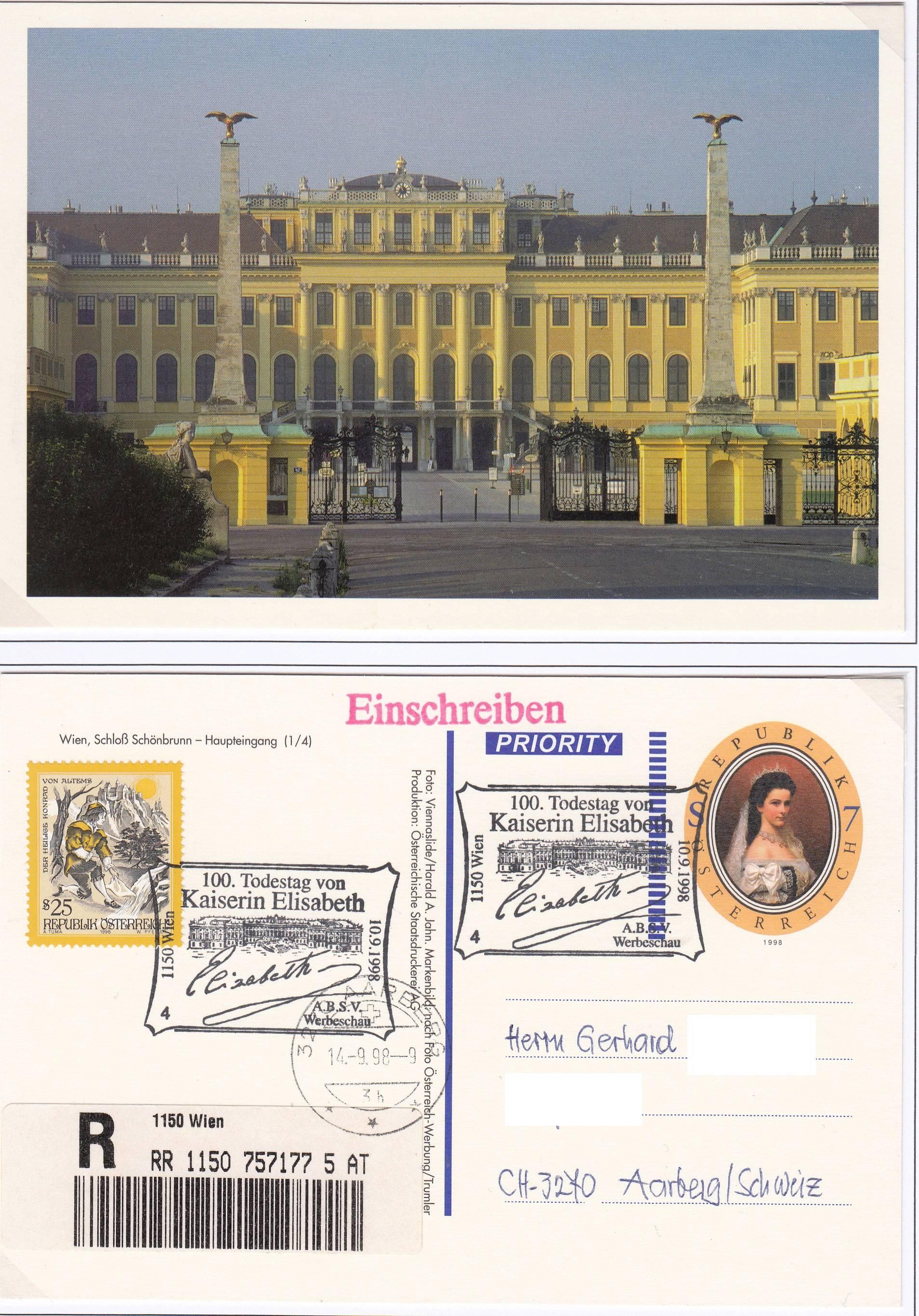 Ansichtskarten mit Werteindruck = Bildpostkarten Img171