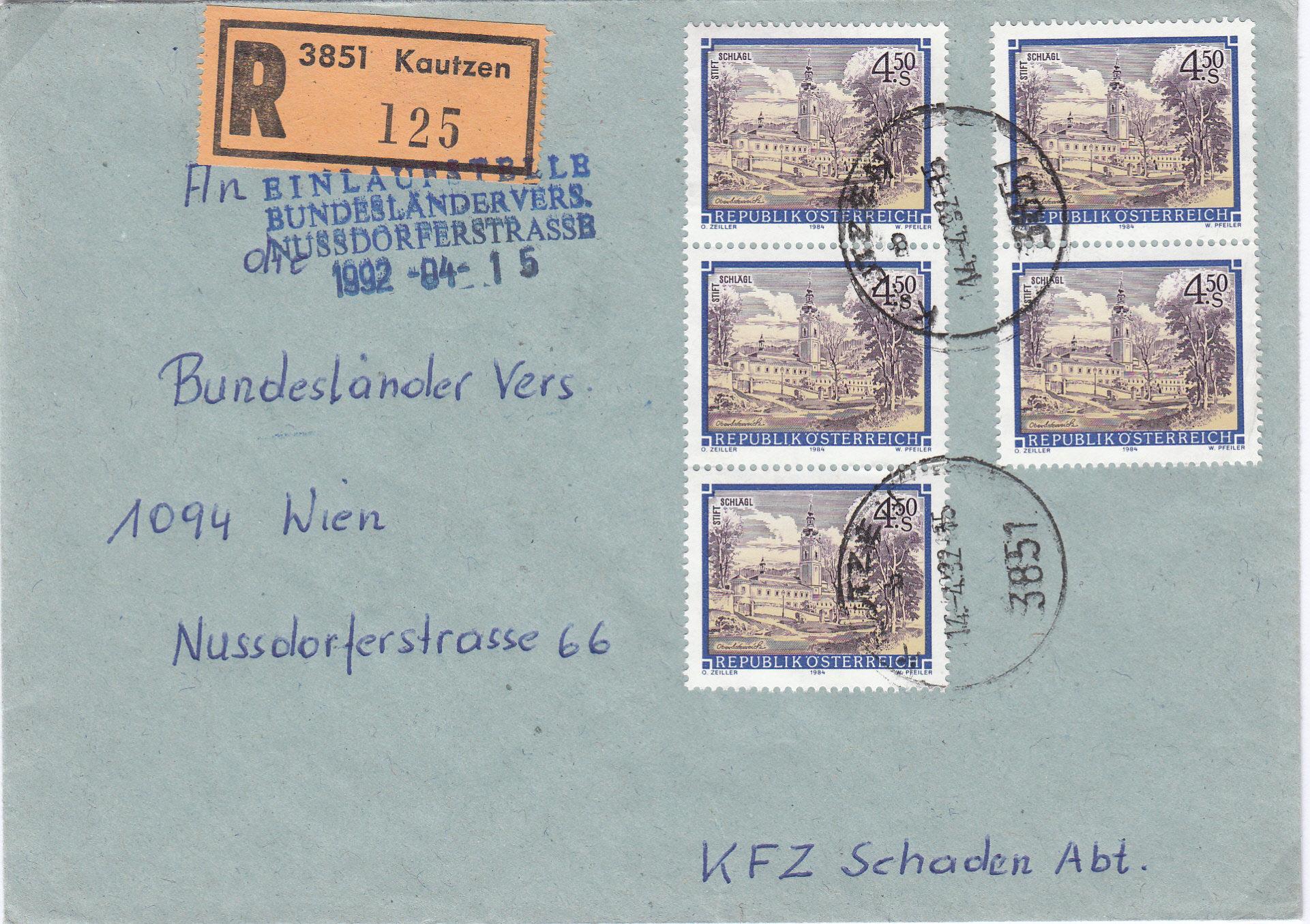Stifte und Klöster - Belege Img187
