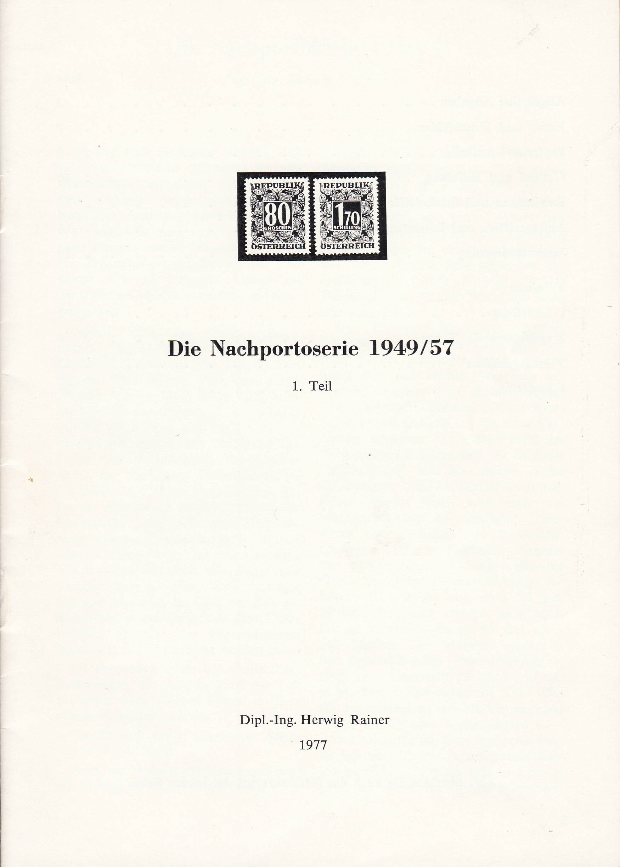 literatur - Literatur zu österreichischen Portomarken Img205