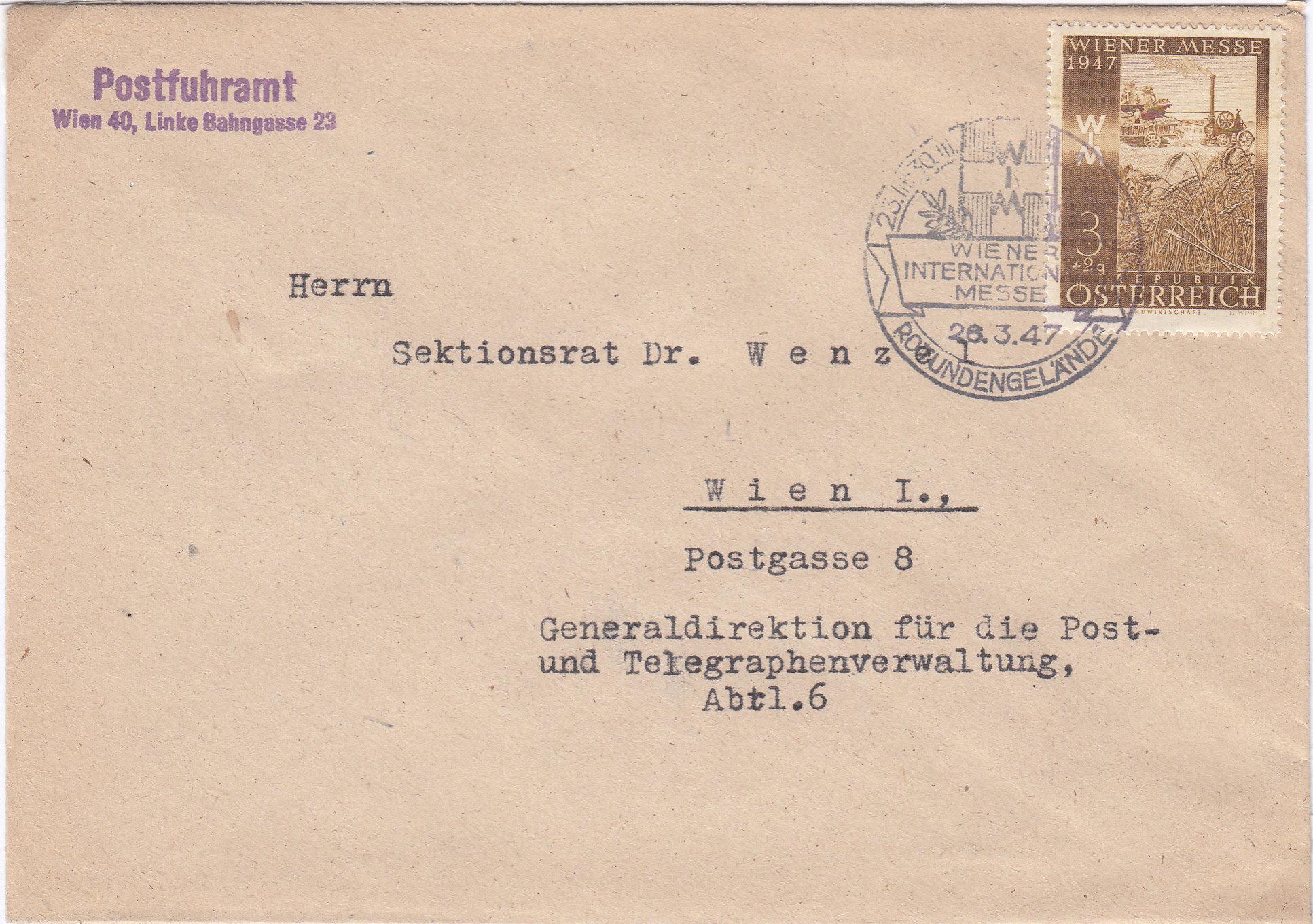 Sammlung Bedarfsbriefe Österreich ab 1945 - Seite 13 Img210