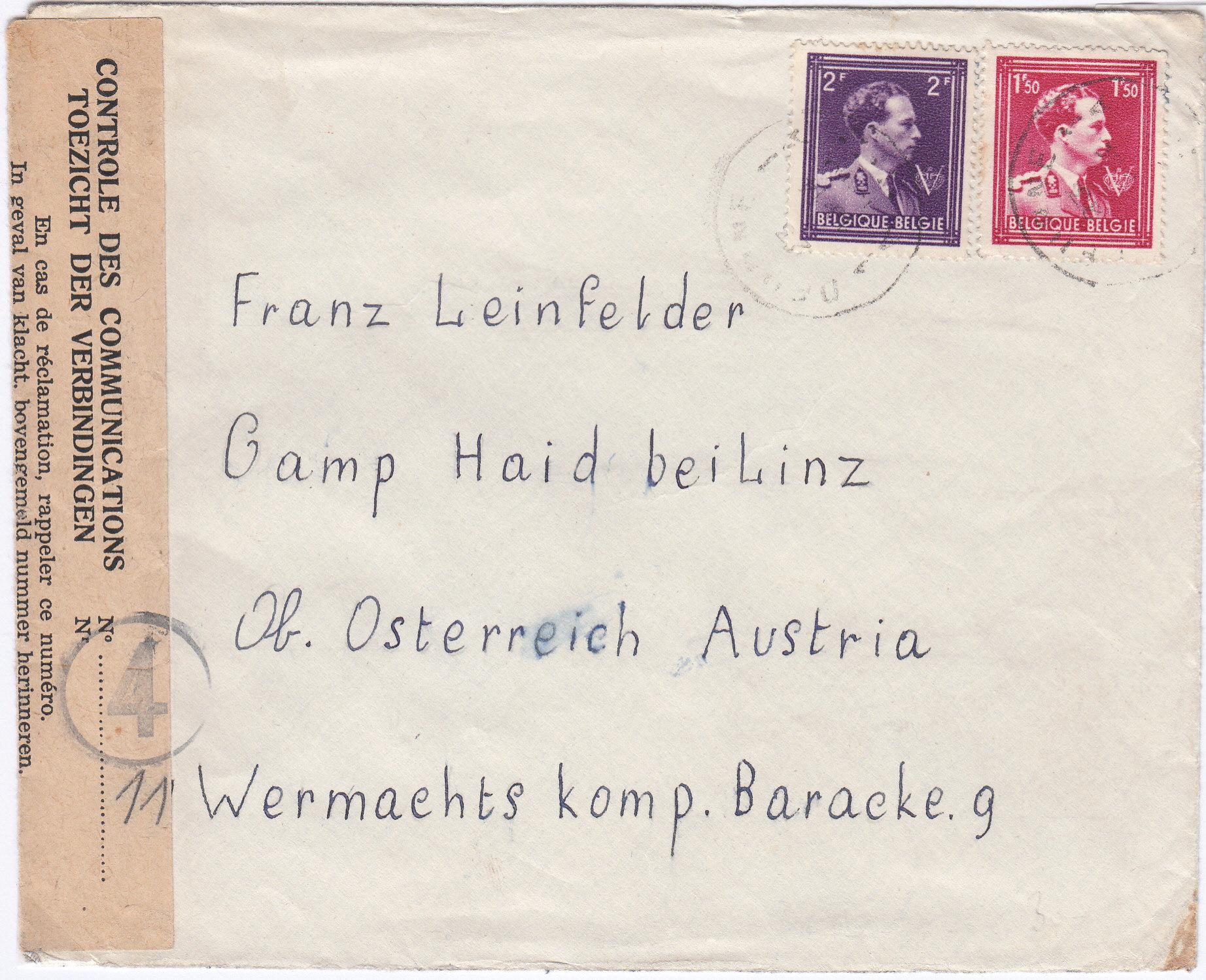 Kriegsgefangenenpost II. Weltkrieg (Österreich) Img215