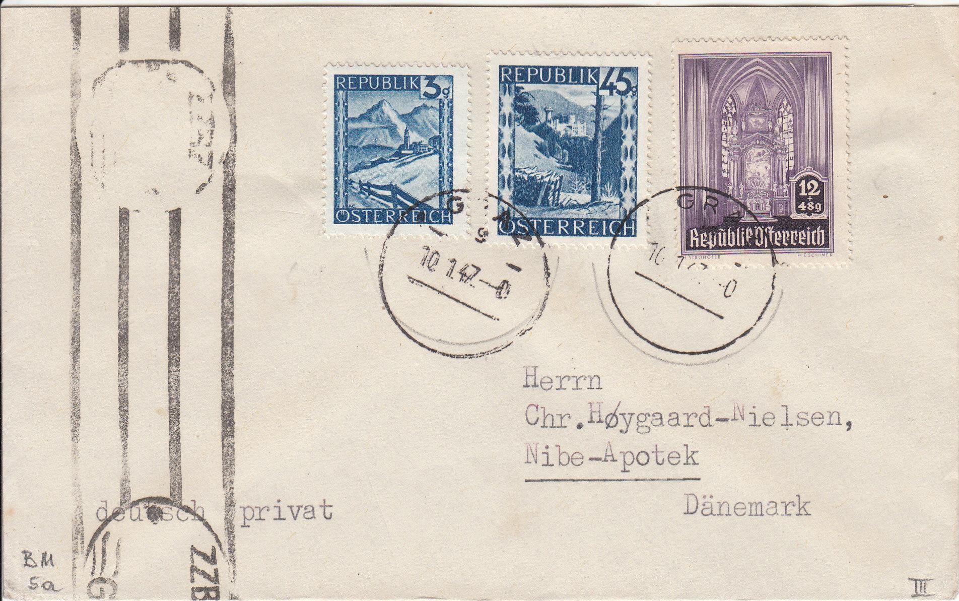 Sammlung Bedarfsbriefe Österreich ab 1945 - Seite 13 Img218