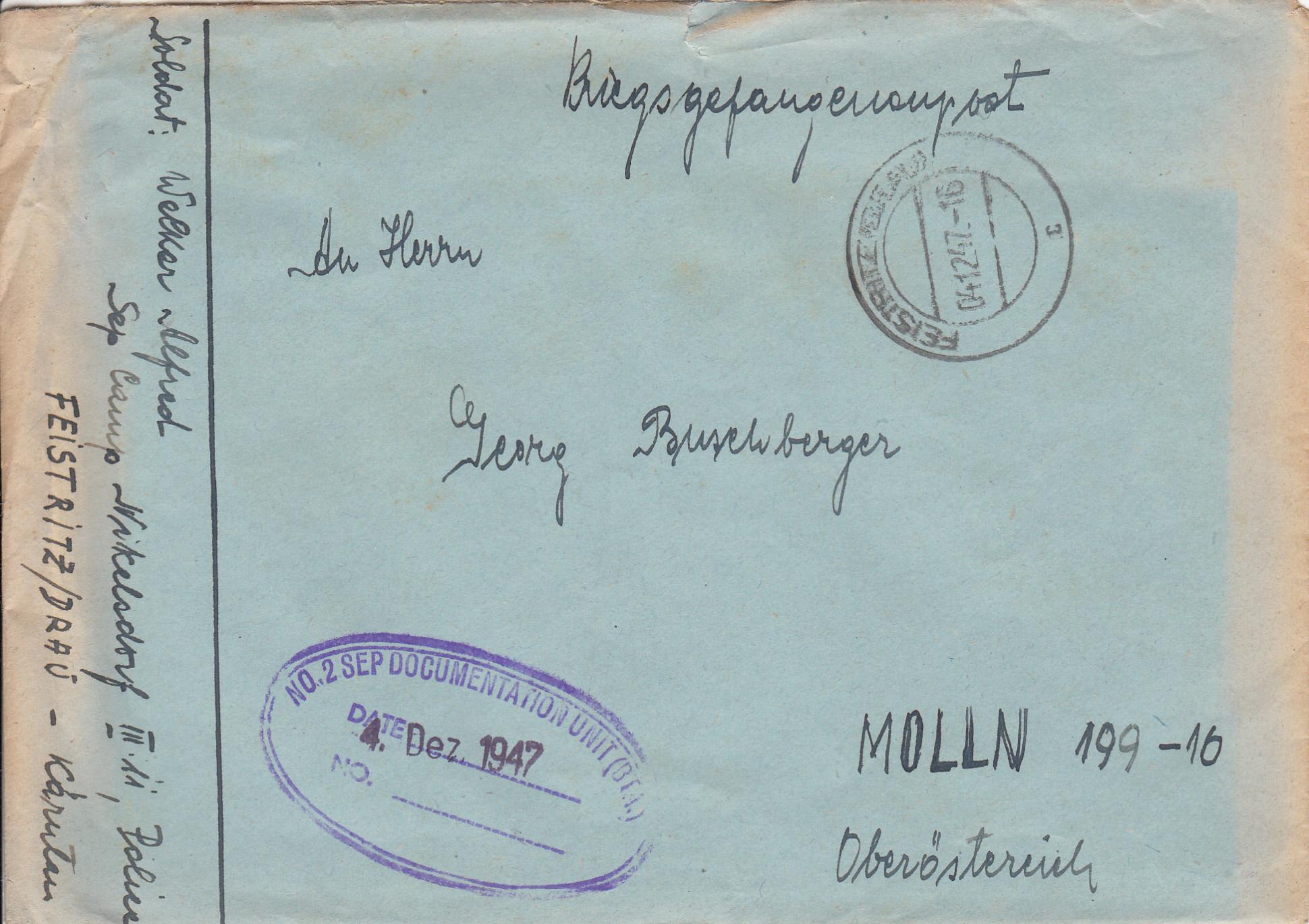 Kriegsgefangenenpost II. Weltkrieg (Österreich) Img220
