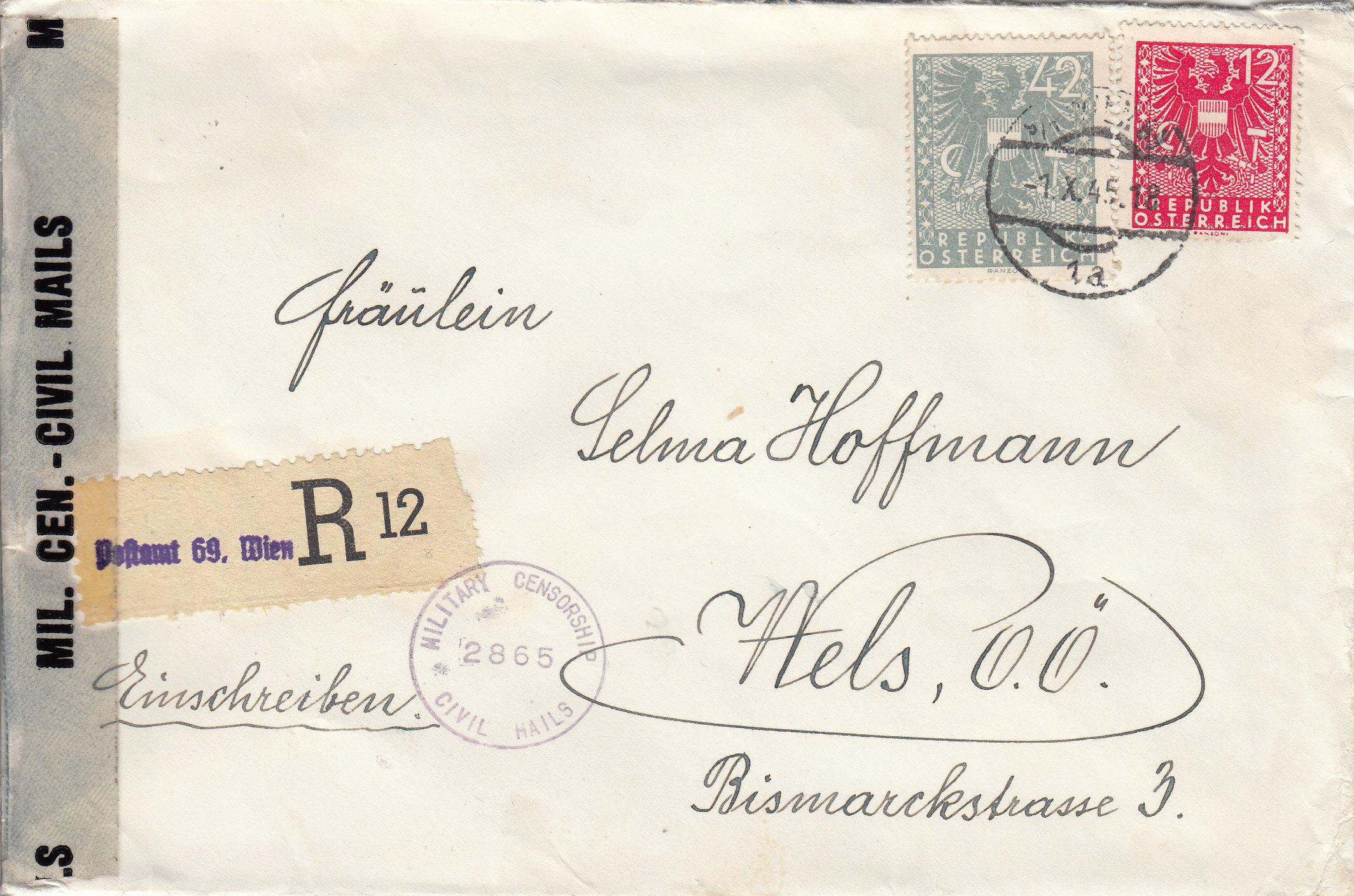 Wappenzeichnung  -  ANK 714-736 - Belege - Seite 5 Img229