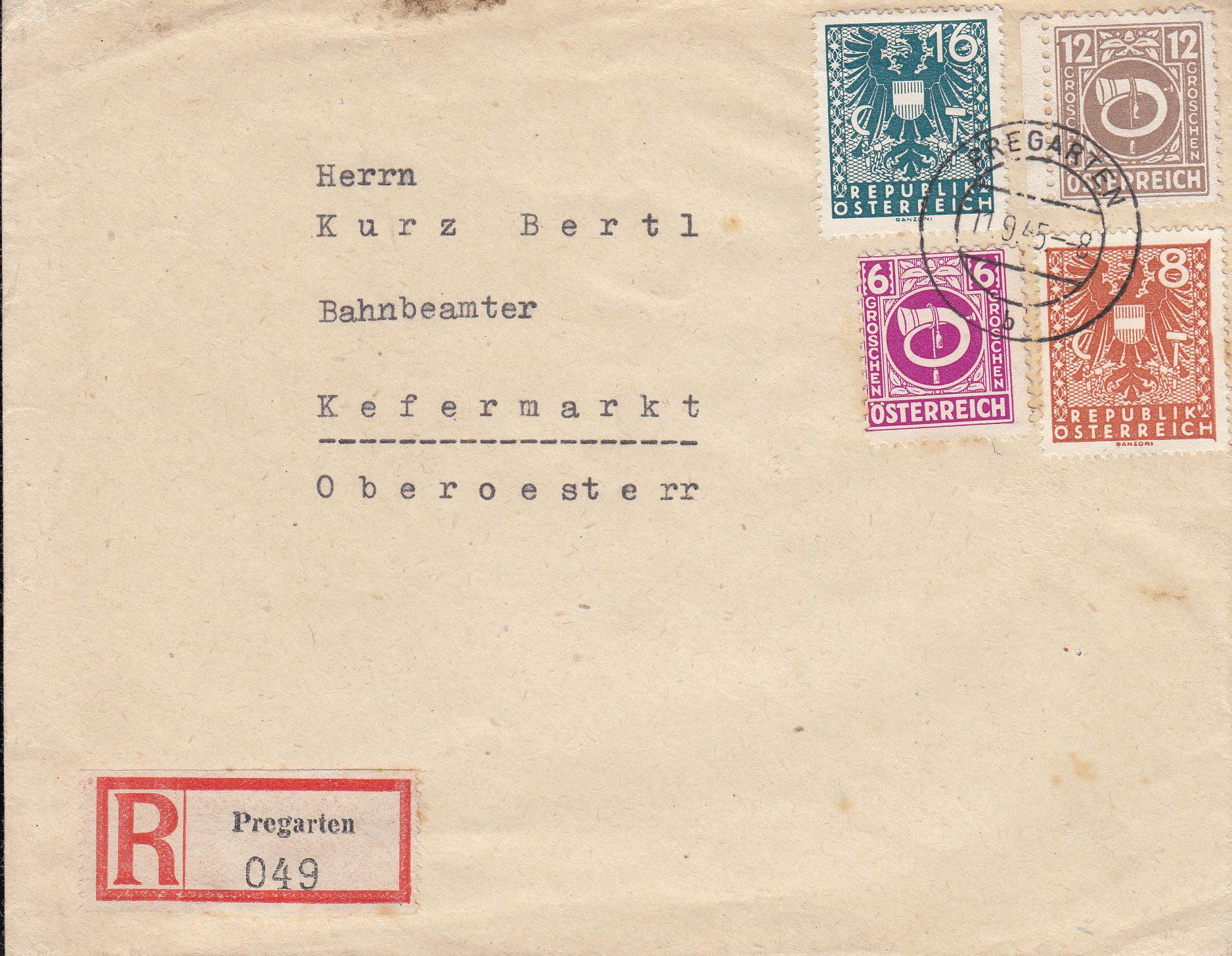 Posthornzeichnung  -  ANK 697-713  -  Belege - Seite 4 Img236