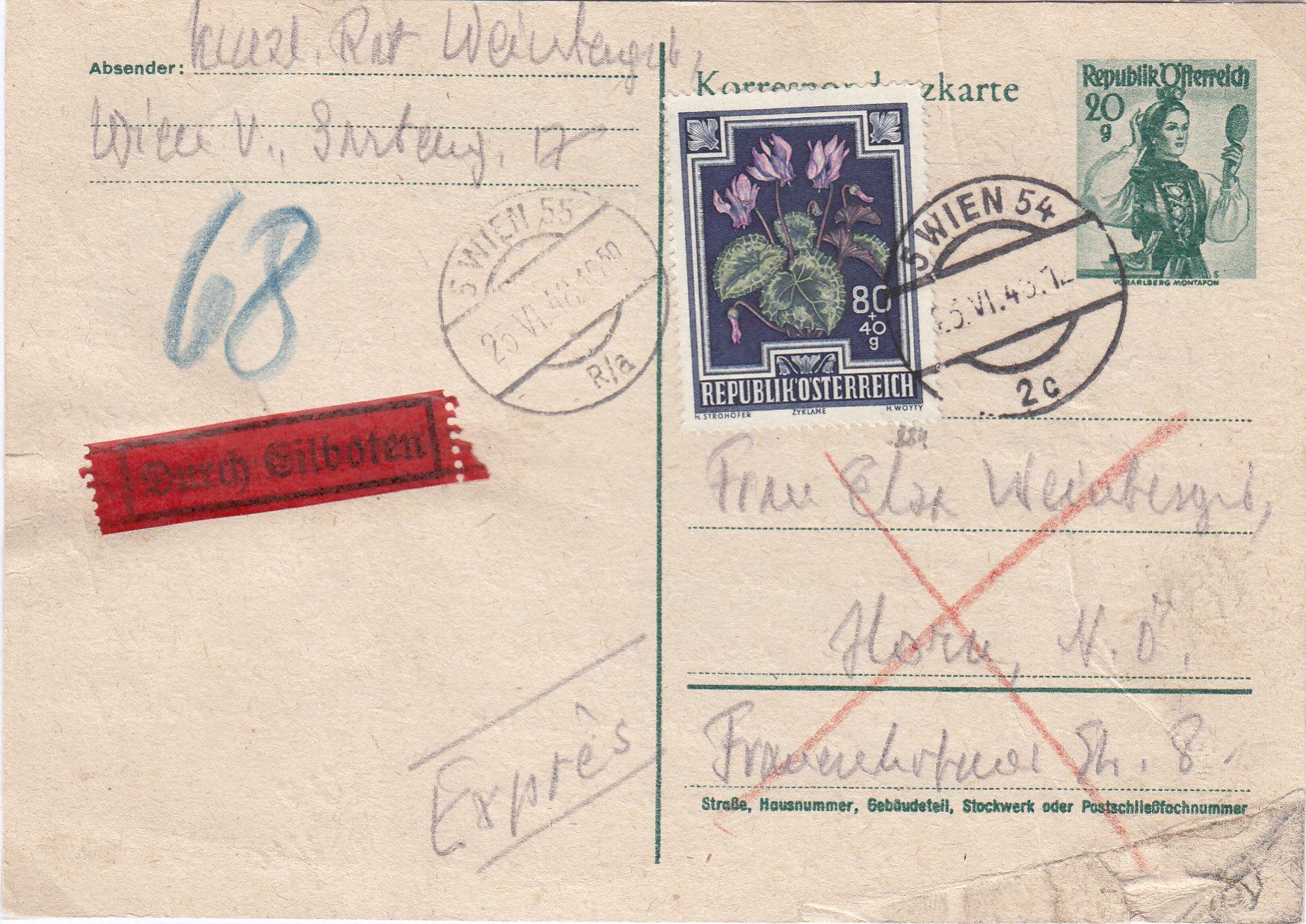 Sammlung Bedarfsbriefe Österreich ab 1945 - Seite 14 Img249