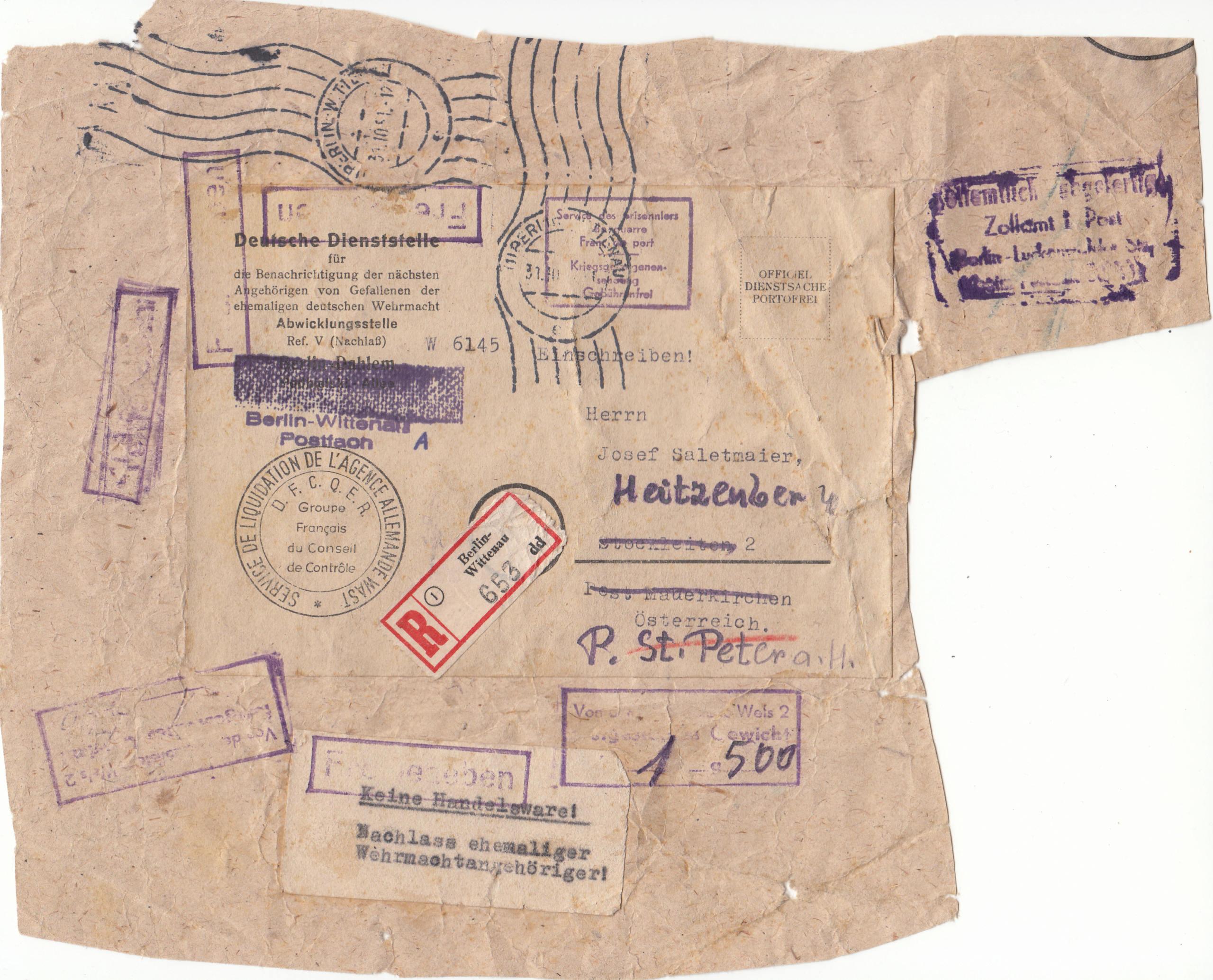 Sammlung Bedarfsbriefe Österreich ab 1945 - Seite 14 Img251