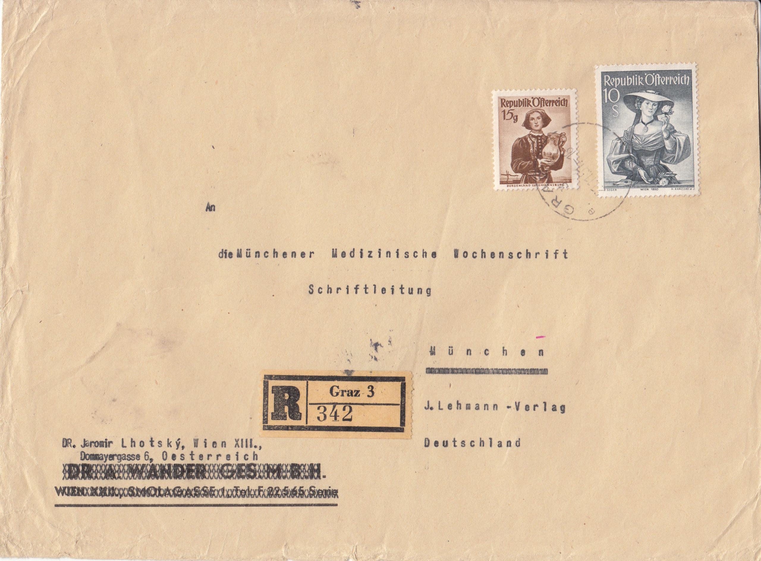 Trachtenserien ANK 887 - 923 und 1052 - 1072 Belege - Seite 12 Img266