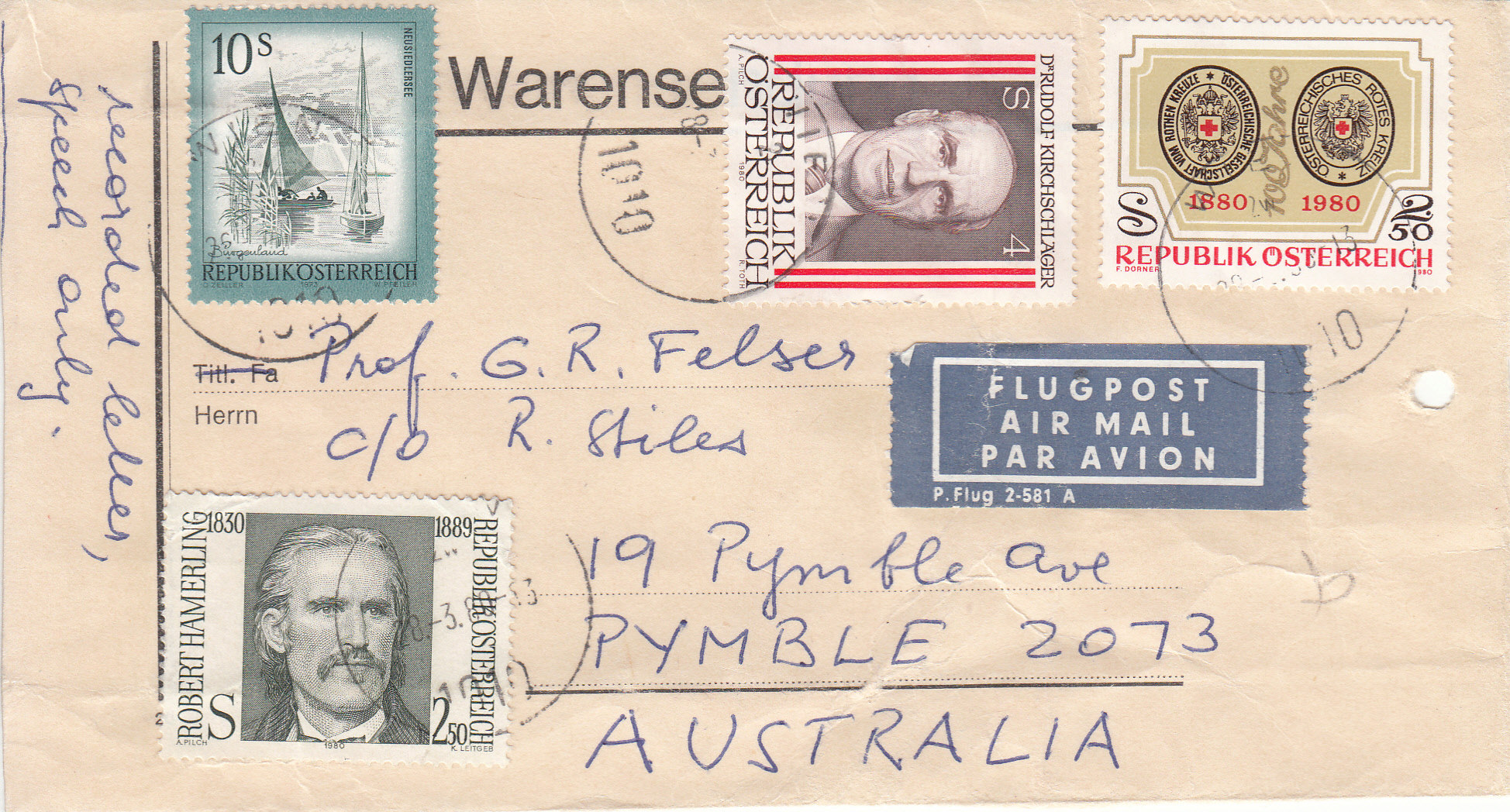 Sammlung Bedarfsbriefe Österreich ab 1945 - Seite 14 Img268
