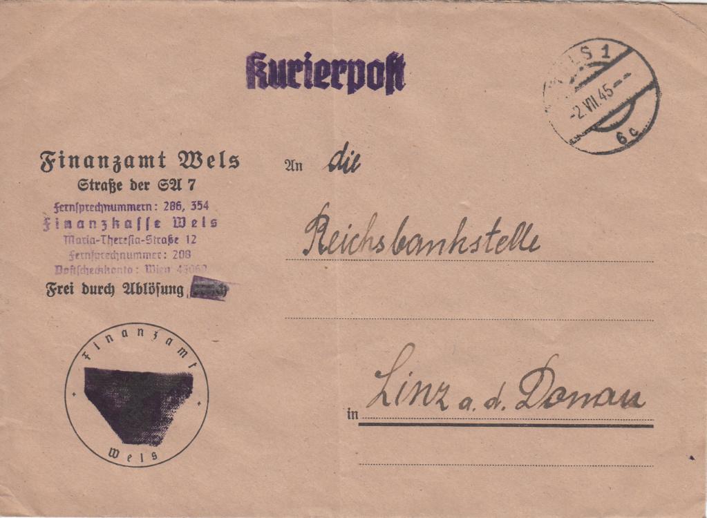 Kurierpost Österreich nach 1945 Img27