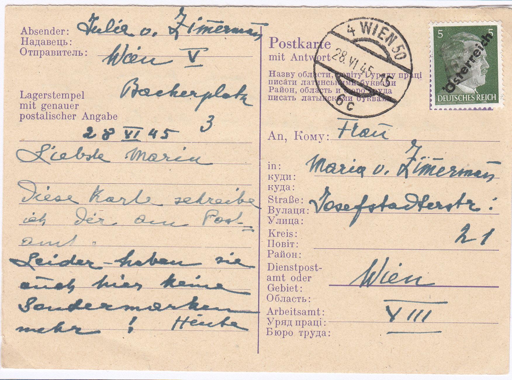 Notmaßnahmen und Provisorien bei Postkarten 1945-1948 - Seite 2 Img292