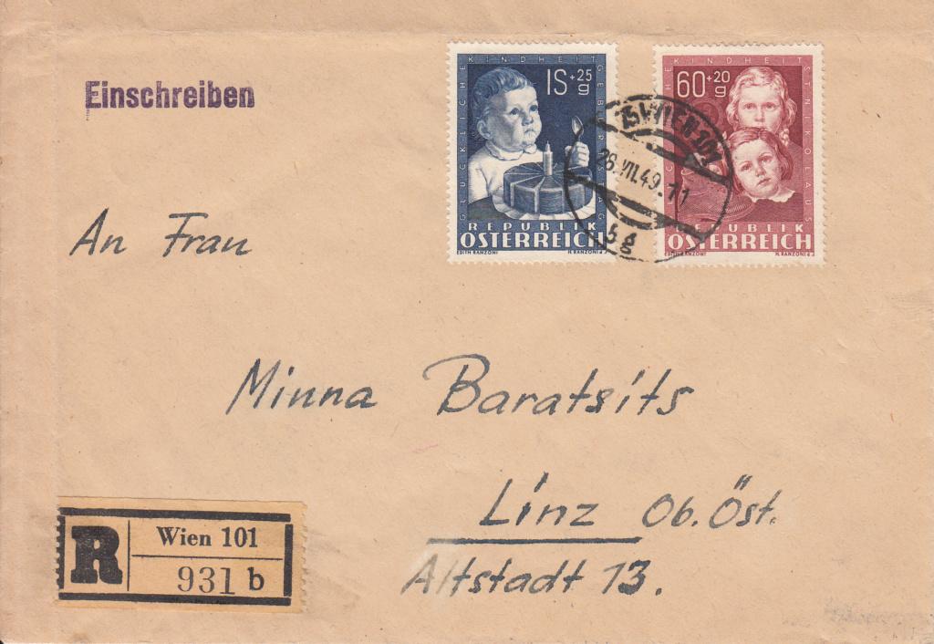 1945 - Sammlung Bedarfsbriefe Österreich ab 1945 - Seite 15 Img297