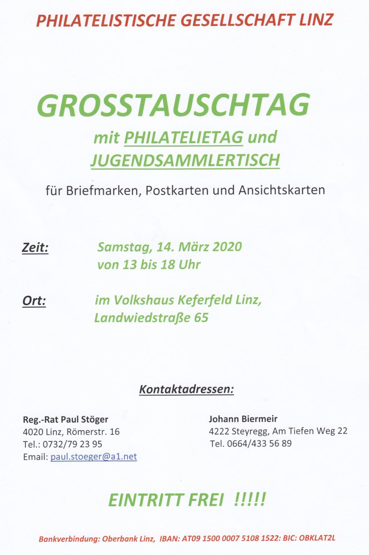 Tauschtag Linz Samstag 14.03.2020 13:00 - 18:00 Img303