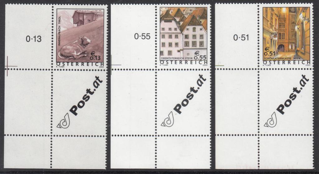 Ferienland Österreich - Dauermarkenserie Img319