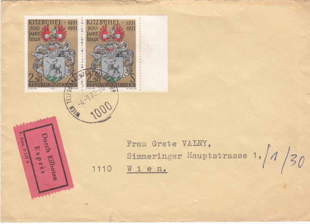 1945 - Sammlung Bedarfsbriefe Österreich ab 1945 - Seite 15 Img326
