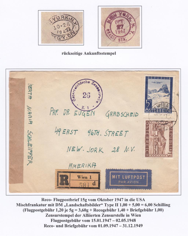 Flugpostausgabe 1947 Img327