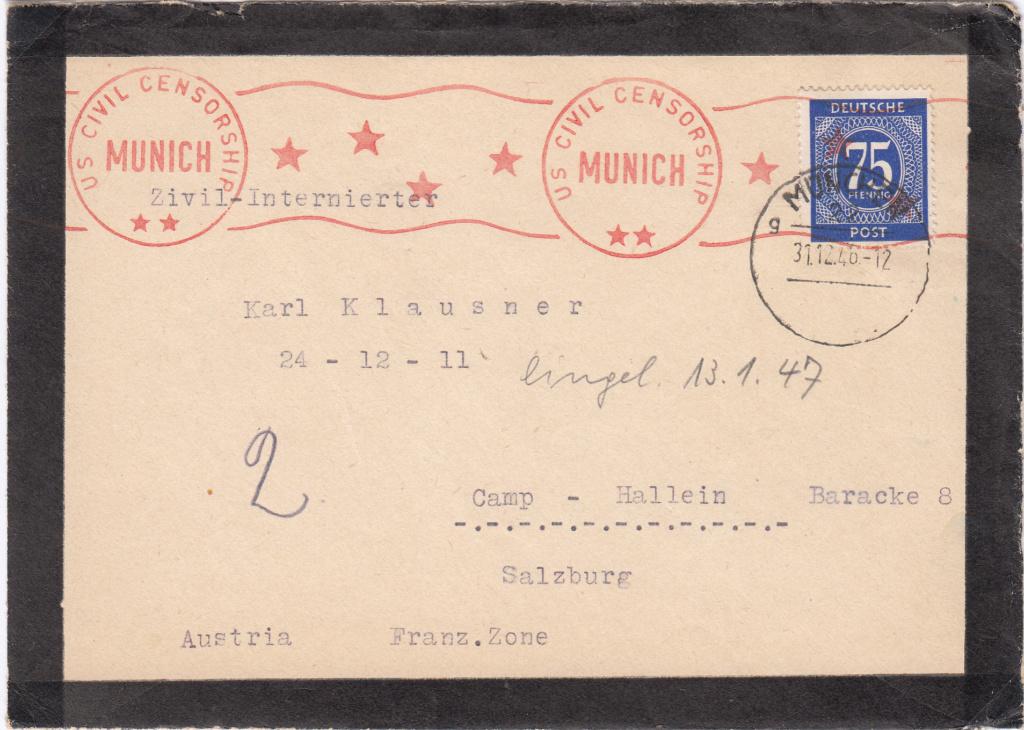 Kriegsgefangenenpost II. Weltkrieg (Österreich) Img358