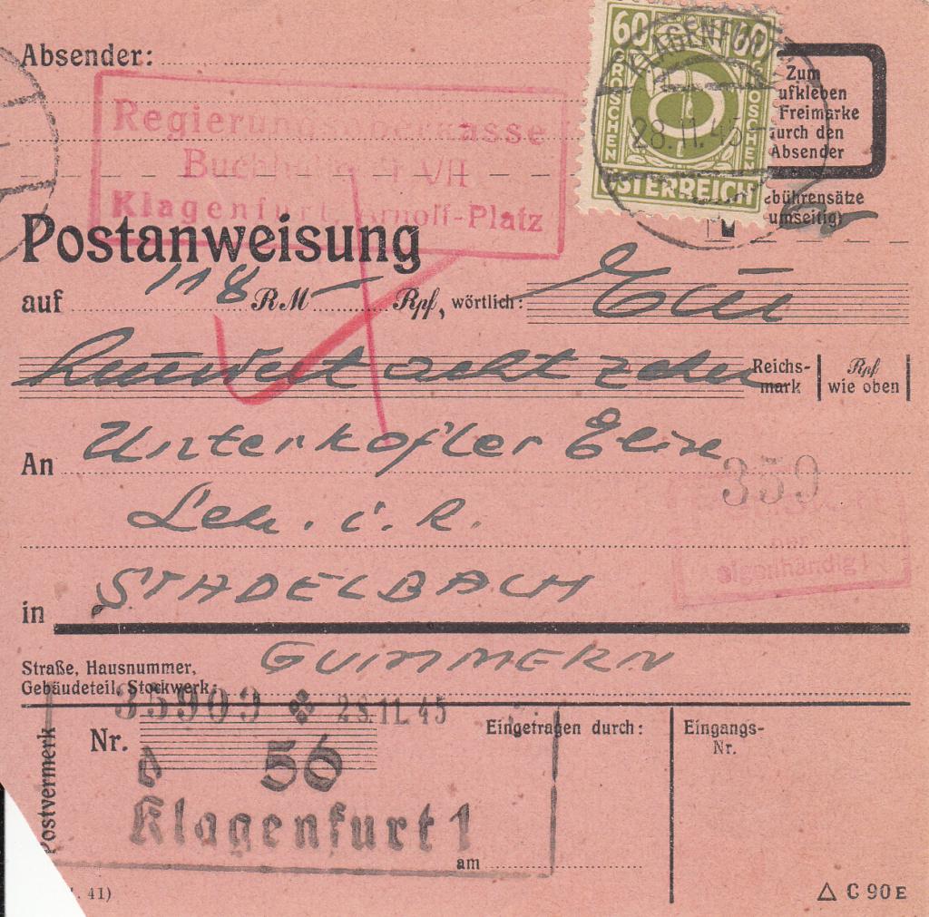 Posthornzeichnung  -  ANK 697-713  -  Belege - Seite 4 Img396