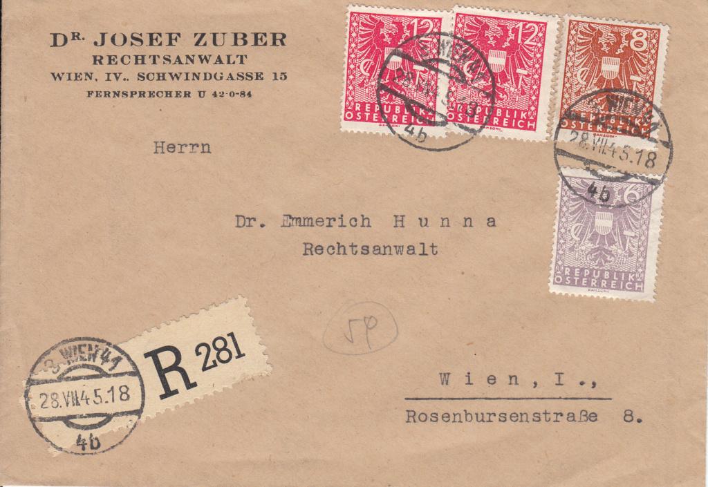 Wappenzeichnung  -  ANK 714-736 - Belege - Seite 4 Img40
