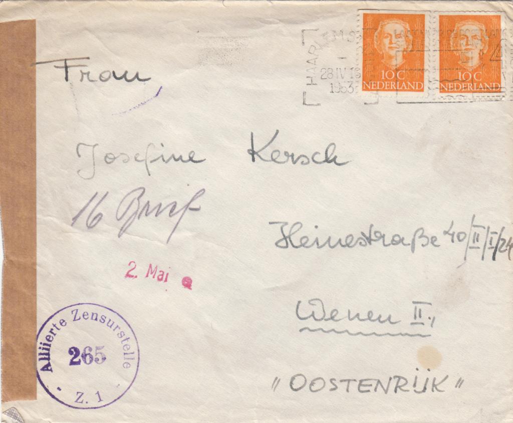 Zensurnebenstempel Österreich nach 1945 Img439