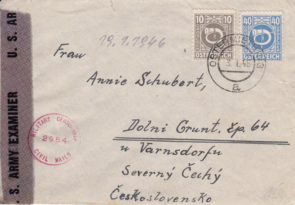 Posthornzeichnung  -  ANK 697-713  -  Belege - Seite 4 Img47