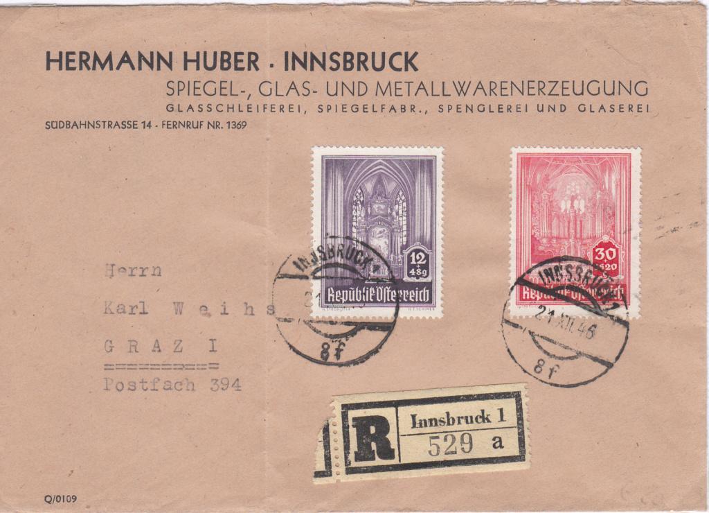Sammlung Bedarfsbriefe Österreich ab 1945 - Seite 10 Img62