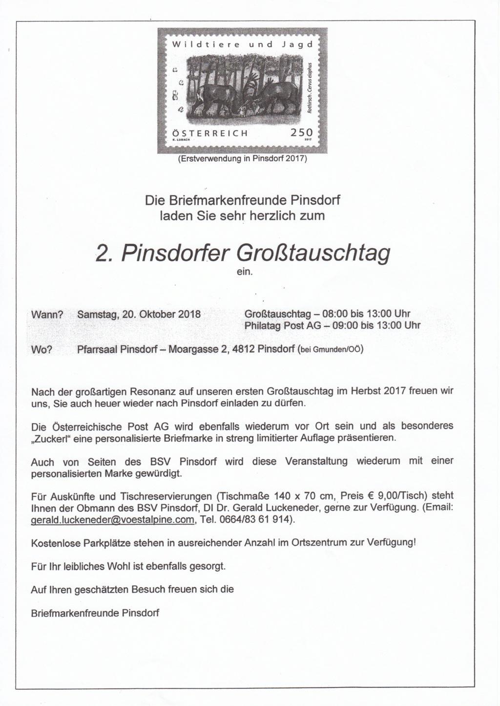 Großtauschtag - 4812 Pinsdorf bei Gmunden am SAMSTAG 20.10.2018 Img65