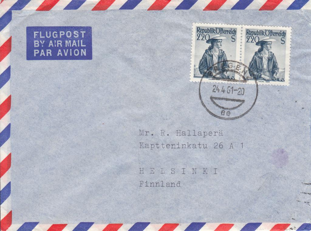 Trachtenserien ANK 887 - 923 und 1052 - 1072 Belege - Seite 11 Img89