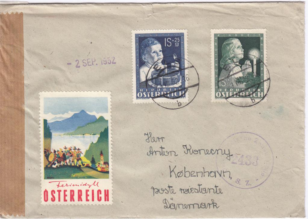 Sammlung Bedarfsbriefe Österreich ab 1945 - Seite 11 Img90