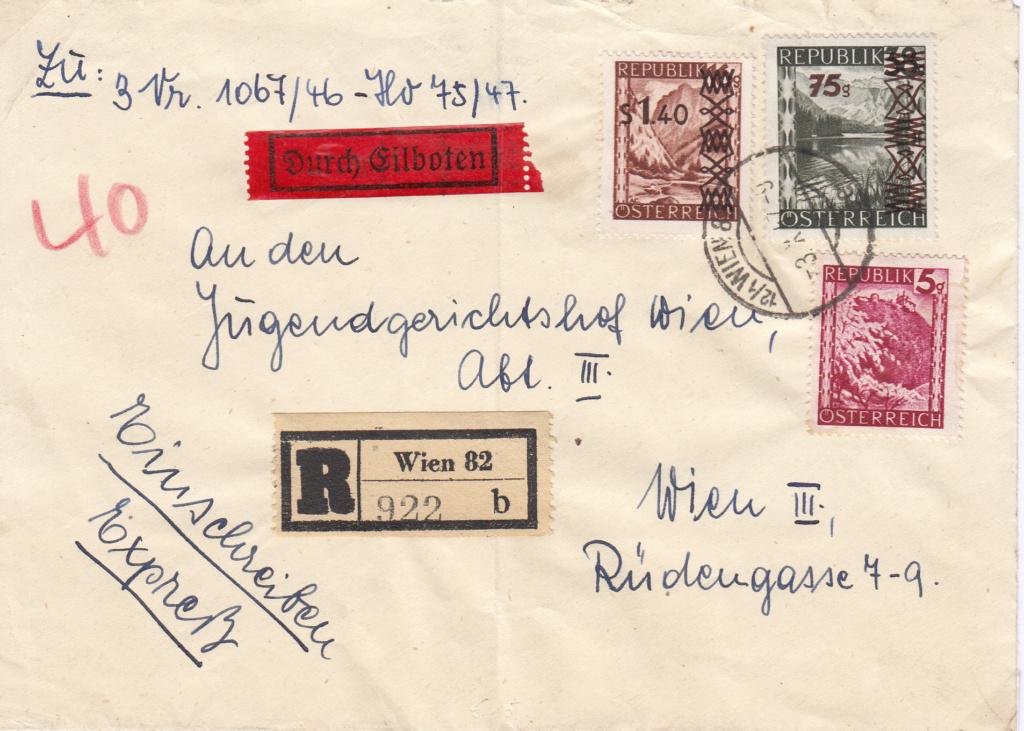 Sammlung Bedarfsbriefe Österreich ab 1945 - Seite 11 Img91
