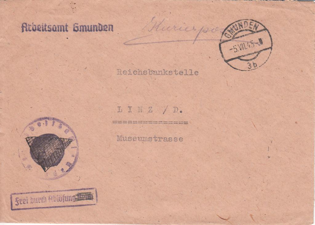 Kurierpost Österreich nach 1945 Img_0030