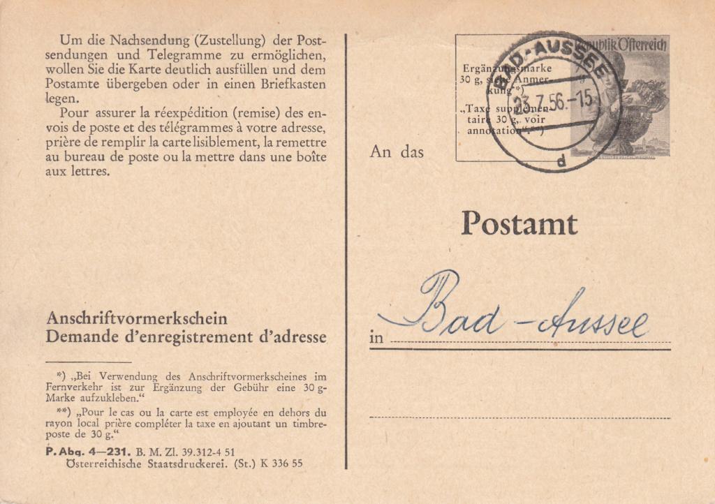Drucksorten der Post - Nachsendungsantrag Img_0096