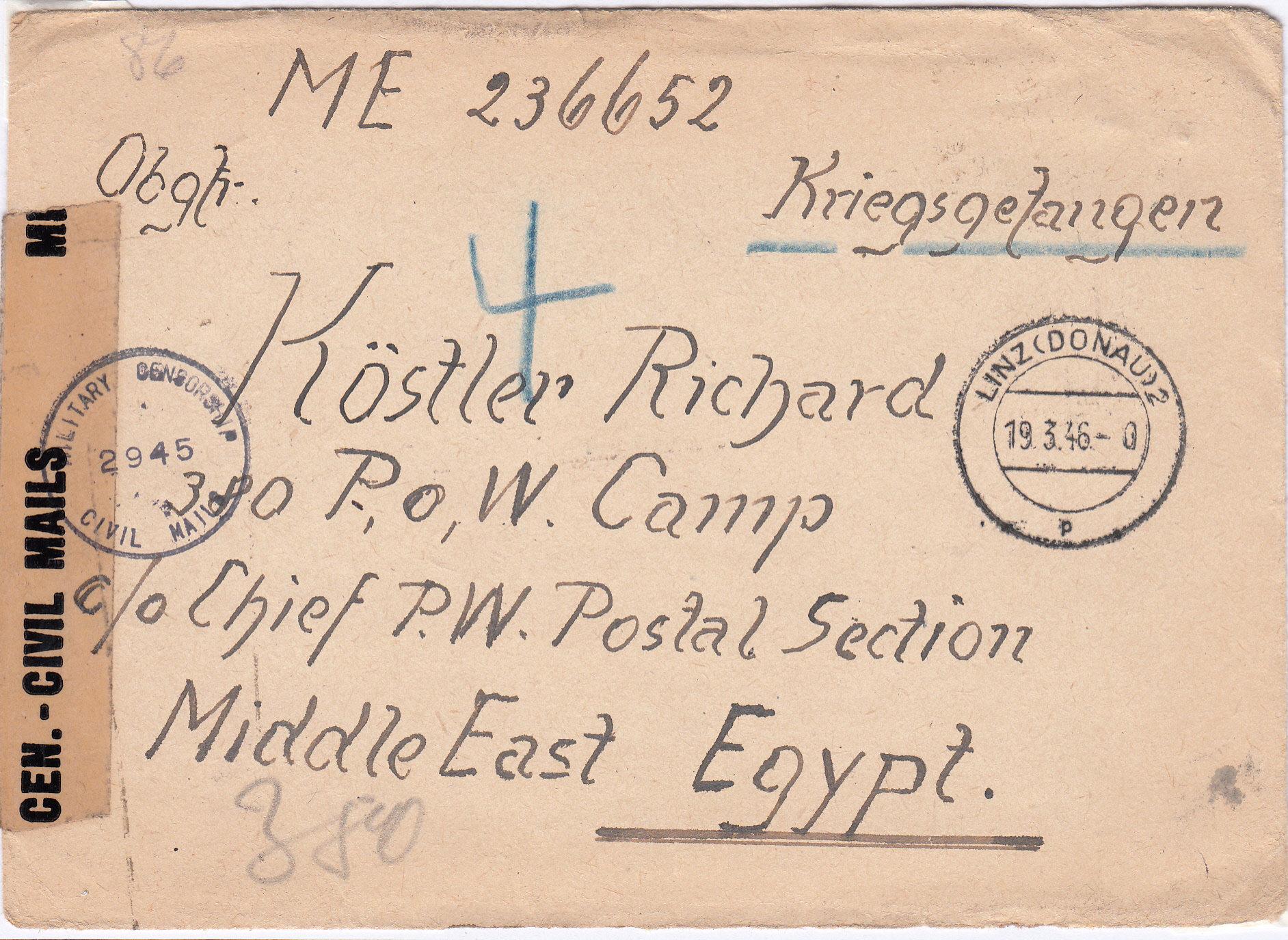 Kriegsgefangenenpost II. Weltkrieg (Österreich) Img_0175