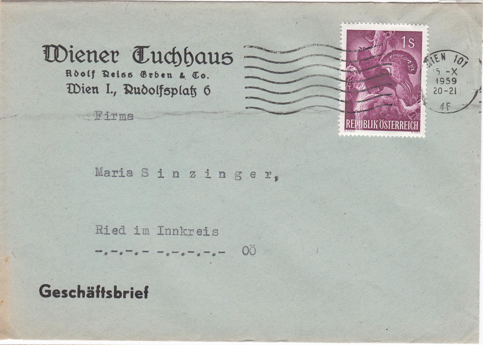 Sammlung Bedarfsbriefe Österreich ab 1945 - Seite 13 Img_0186